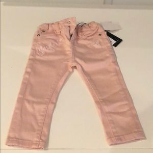 Baby Girls Pink DL1961 Jeans